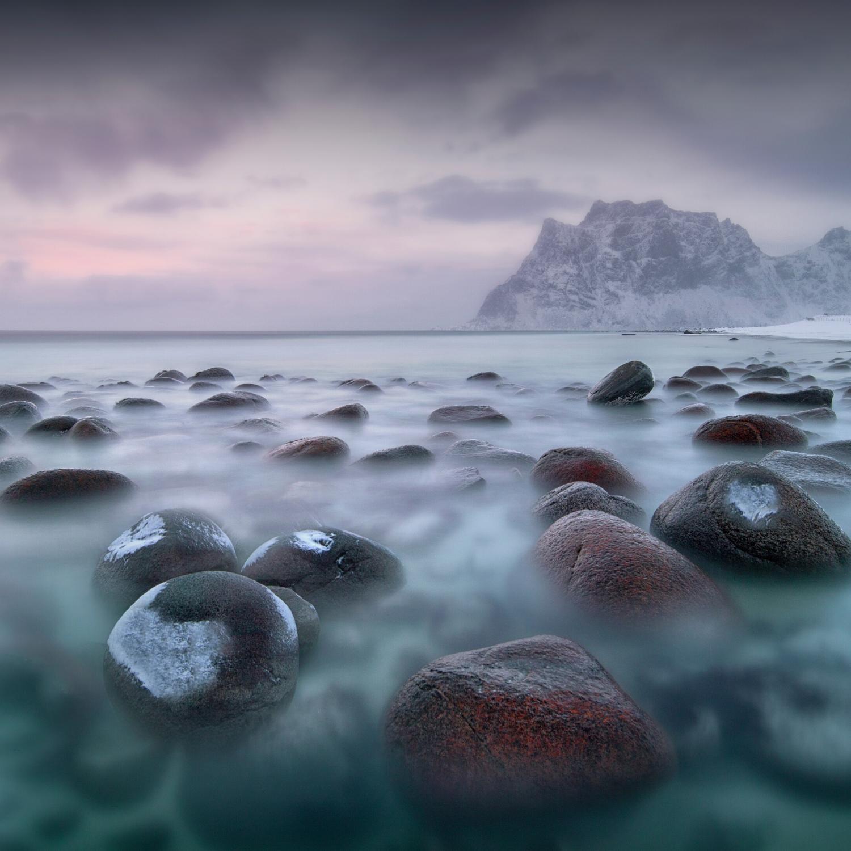 Square Landscape Photograph Lofoten Norway by award-winning profressional landscape photographer Ignacio Pala cio
