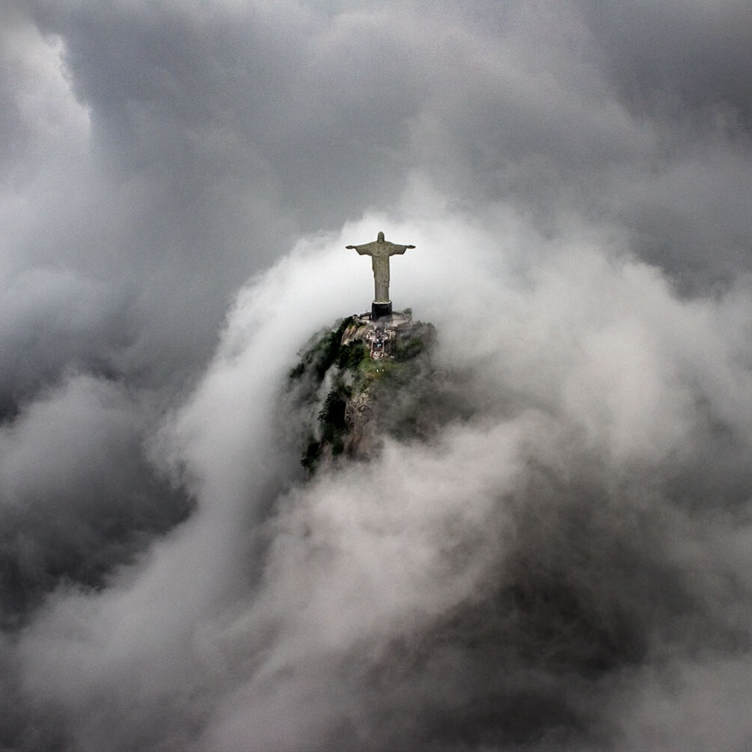 Travel Photograph Christ the Redeemer Rio de Janeiro Brazil photographed by professional travel photographer Ignacio Palacios